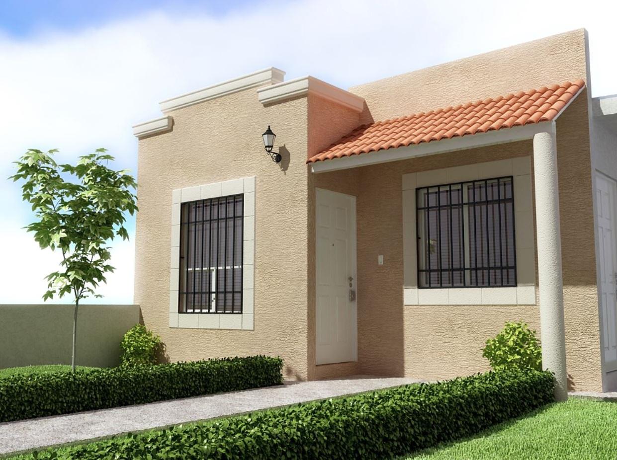 Fachadas de casas de una planta for Fachadas de casas modernas pequenas de 2 pisos
