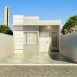 10 Fachadas de casas sencillas de un piso