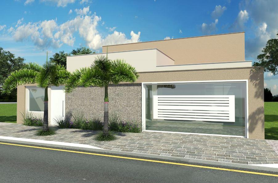 10 fachadas de casas sencillas de un piso - Fachadas de casas sencillas de un solo piso ...