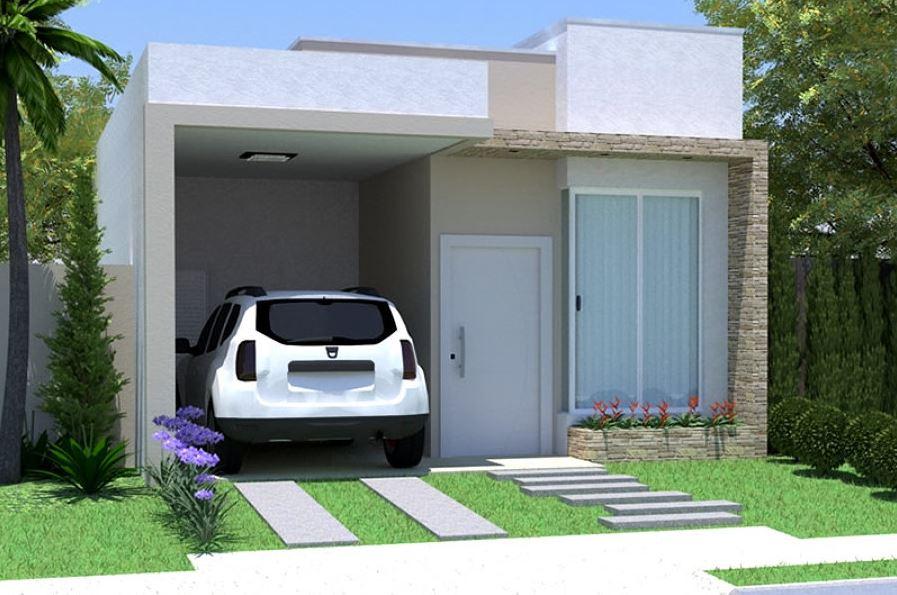 10 fachadas de casas sencillas de un piso for Fachadas de casas de un piso sencillas