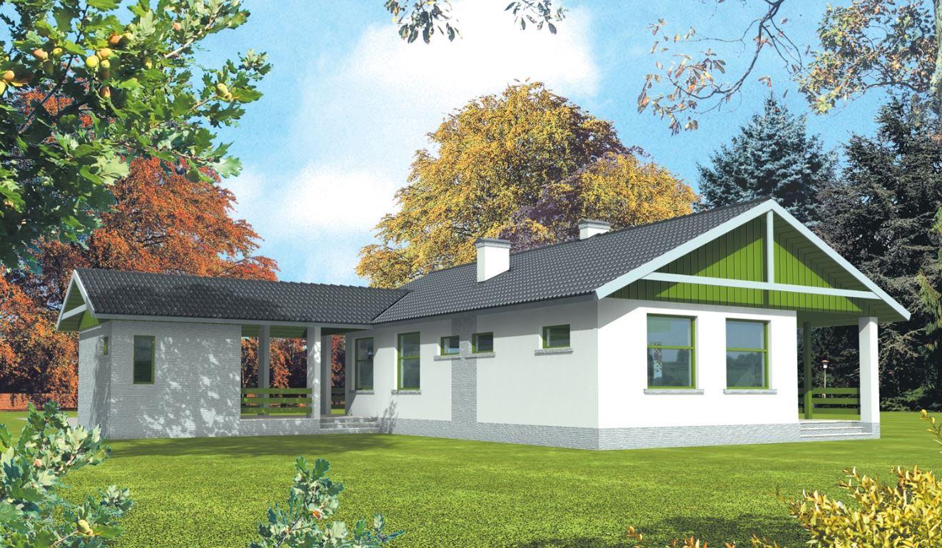 Fachadas de casas de campo for Modelos de casas de campo modernas