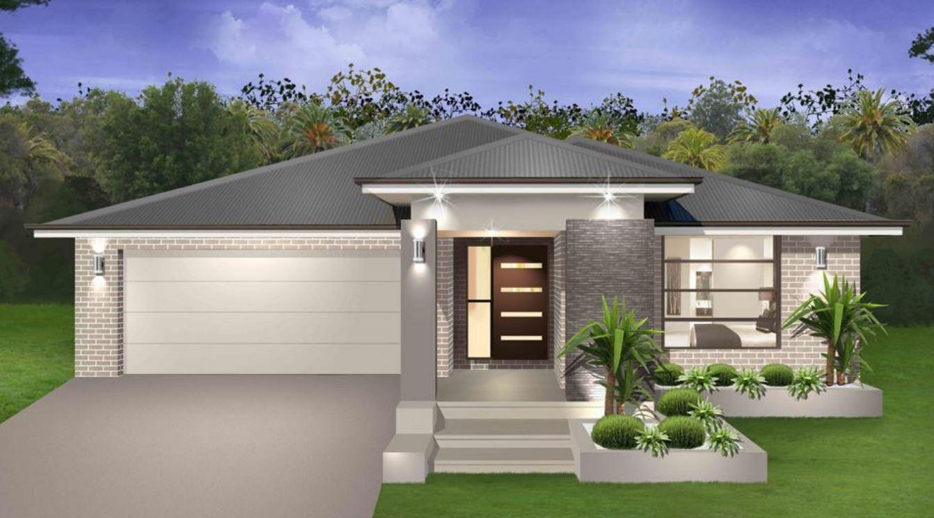 Fachadas de ladrillos for Frentes de casas de una planta