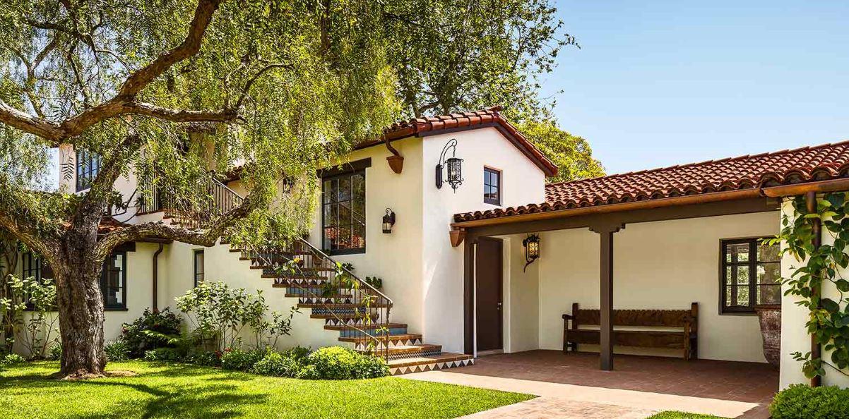 Fachadas con tejas coloniales - Fachadas exteriores de casas ...