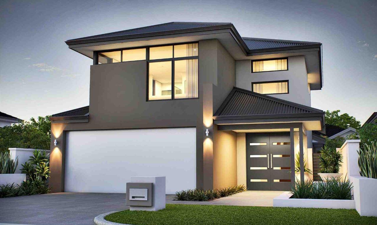 Fachadas de casas modernas 2018 for Fachadas modernas para casas de dos pisos