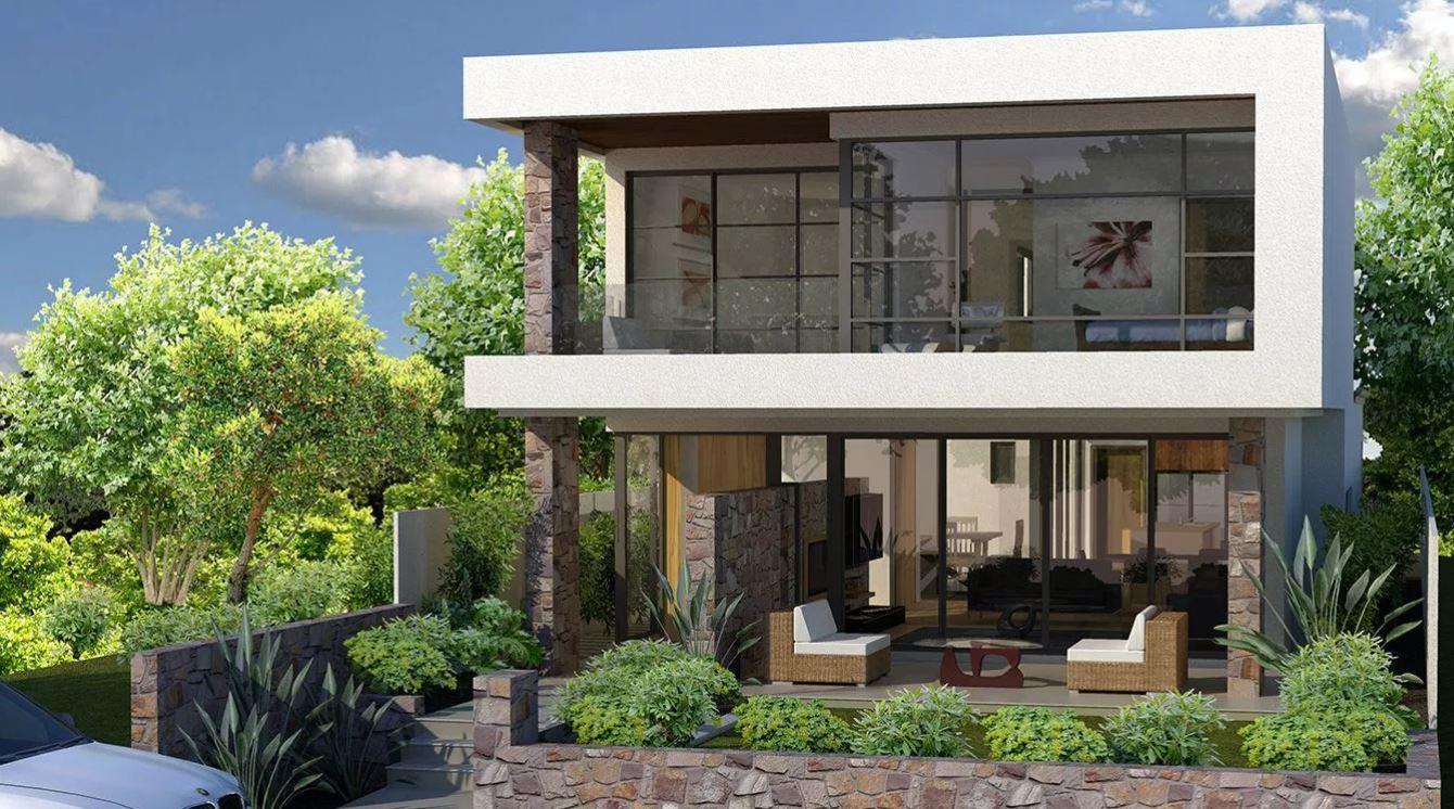 Fachadas con terrazas for Donde queda terrazas