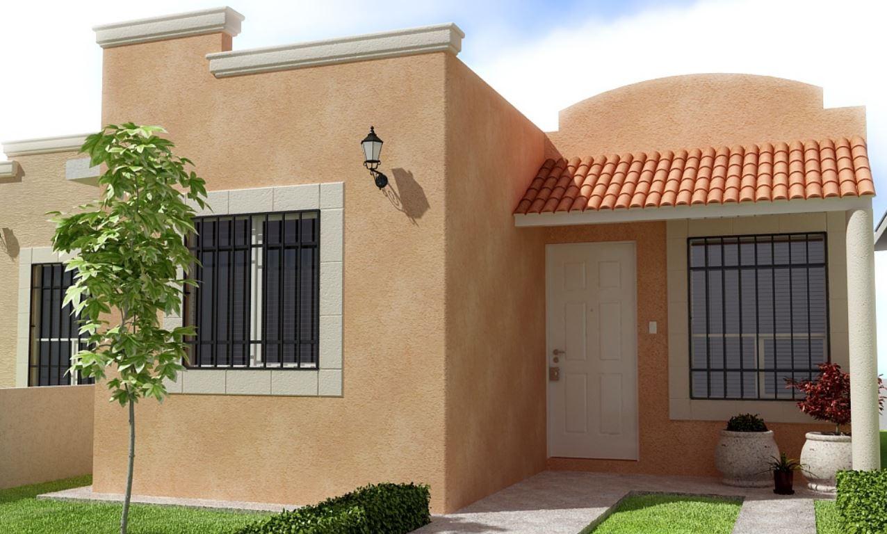 Fachadas con tejas coloniales for Fachadas de jardines para casas