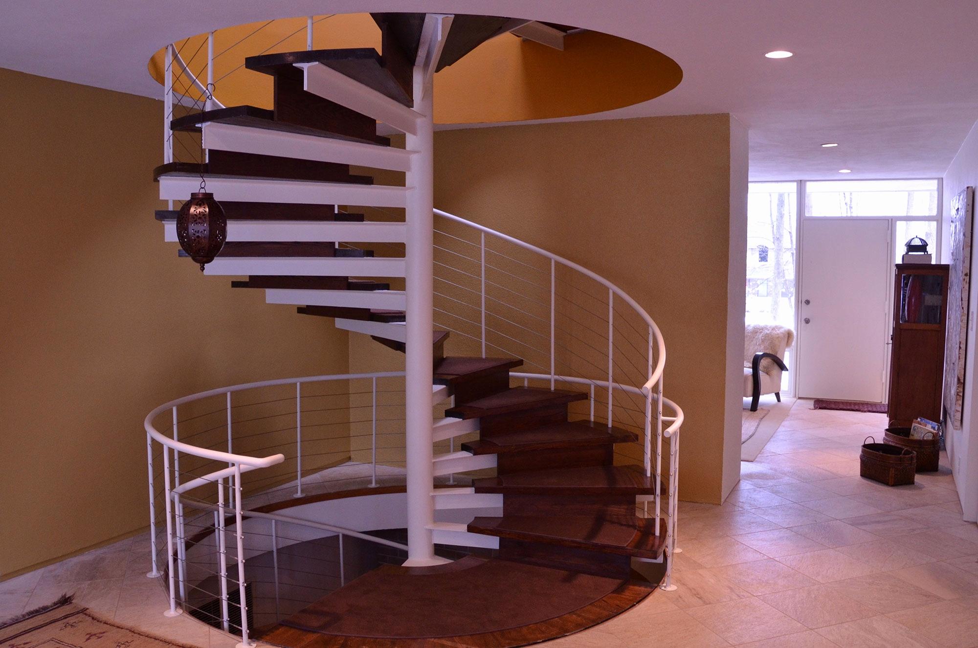 Escaleras De Caracol De Madera Para Interiores – Cecoc.info