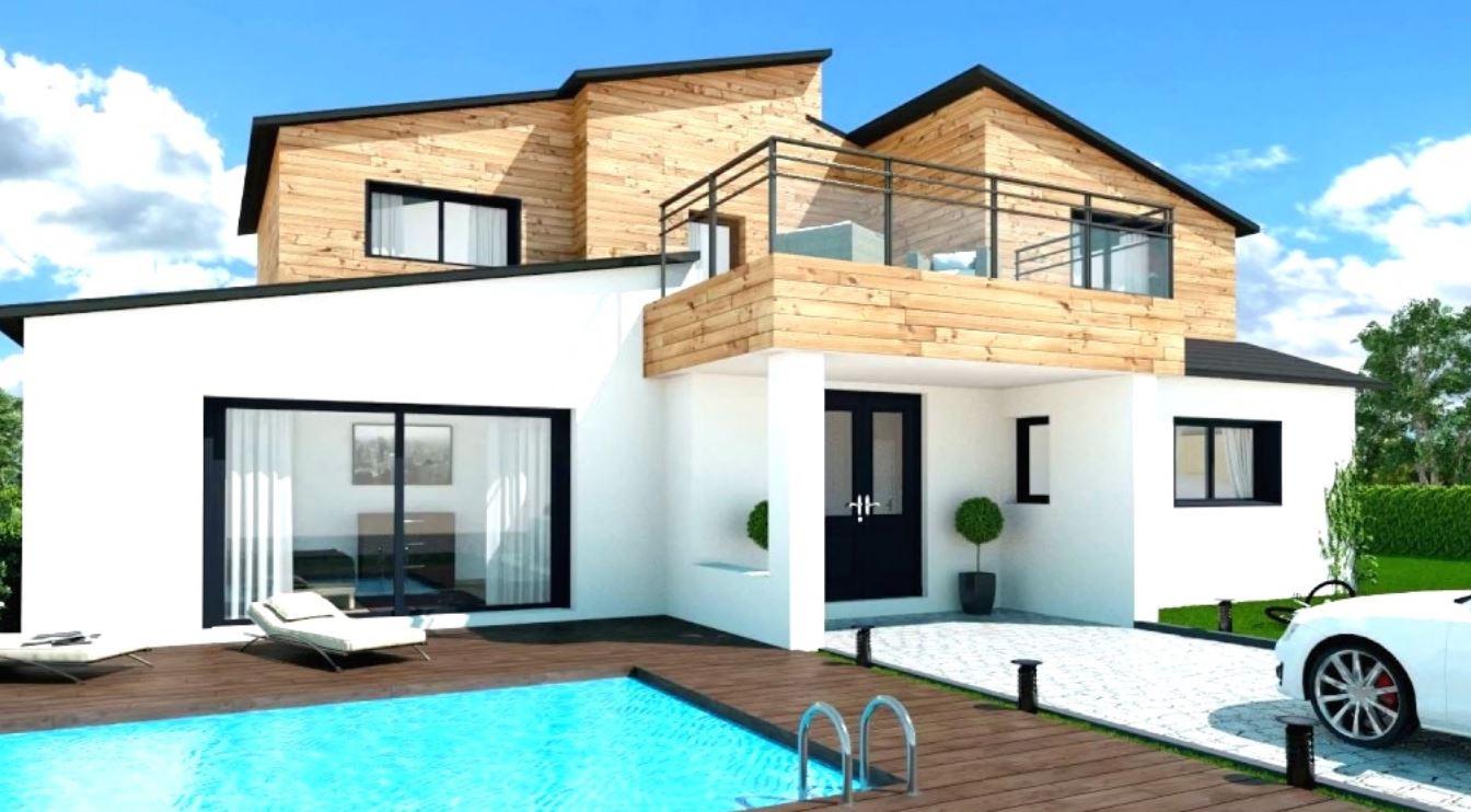 Fachadas con terraza for Fachadas de casas segundo piso