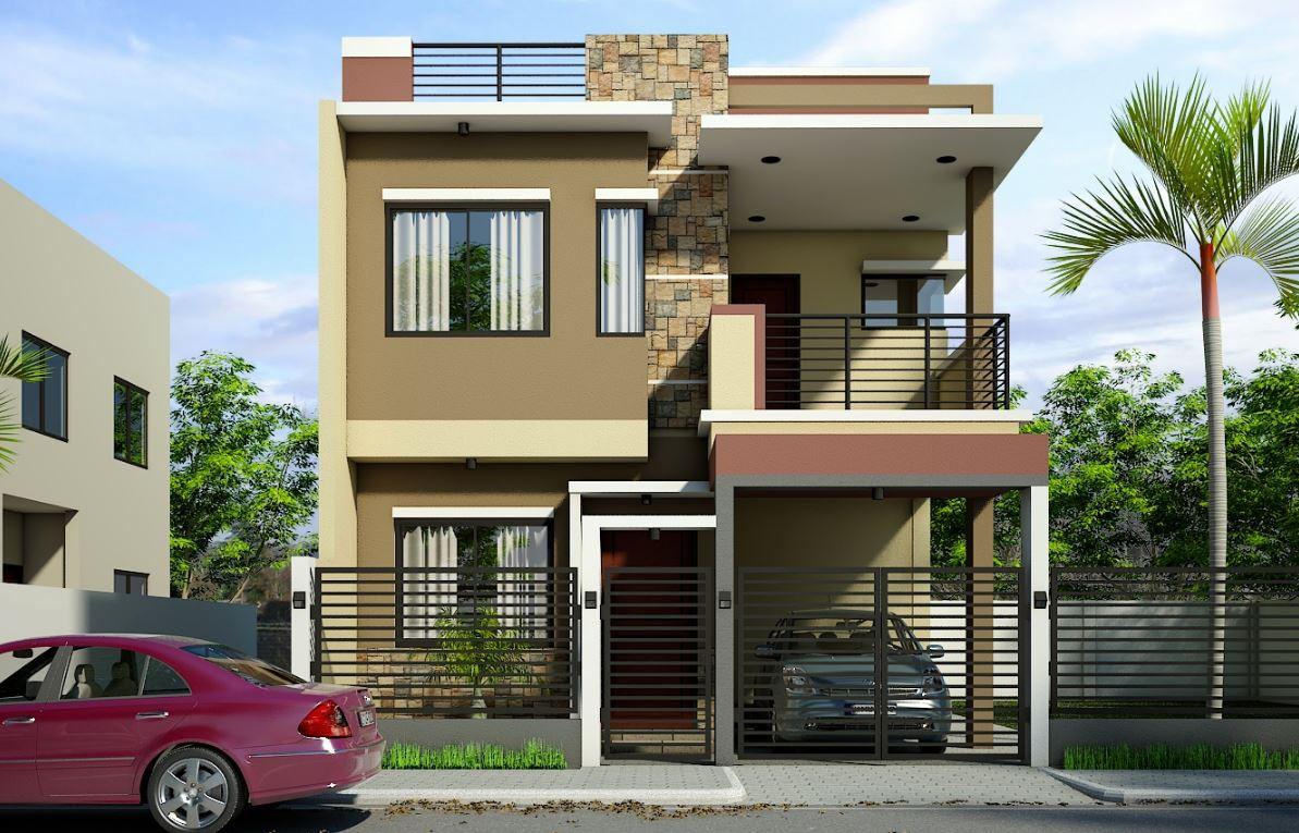 Fachadas con terraza for Pisos de terrazas