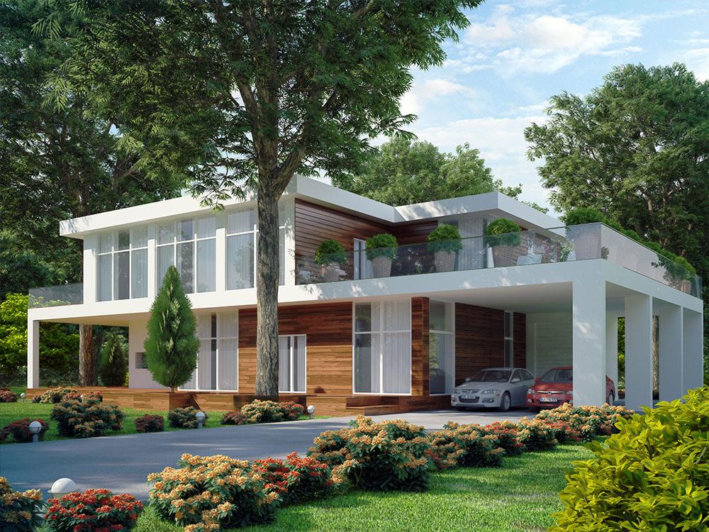 10 casas con terraza que te van a sorprender - Casas con terrazas ...