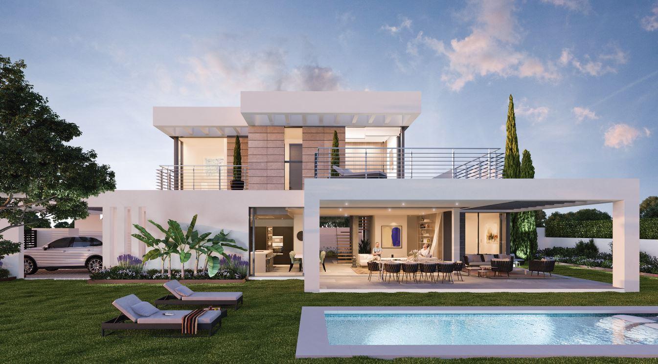 Fachadas con terrazas for Casas para terrazas