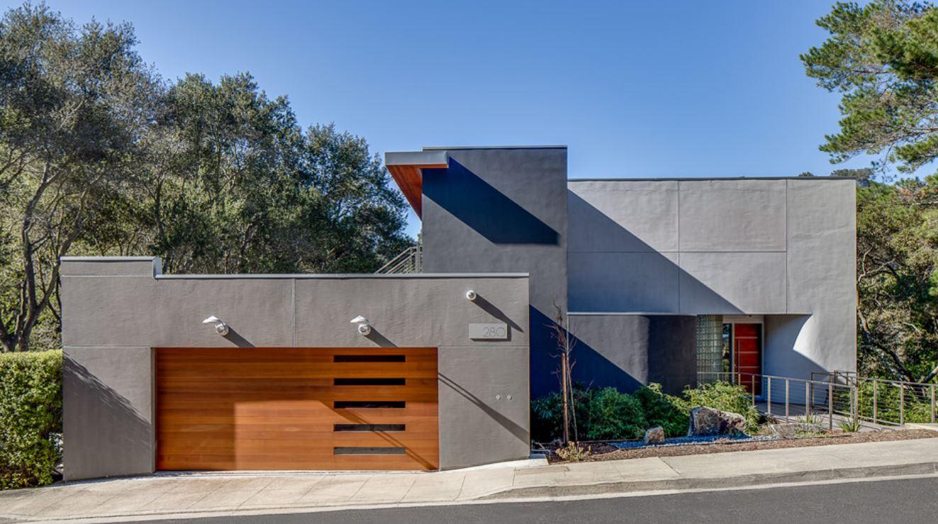 10 ideas para entradas de garaje for Casas en garajes