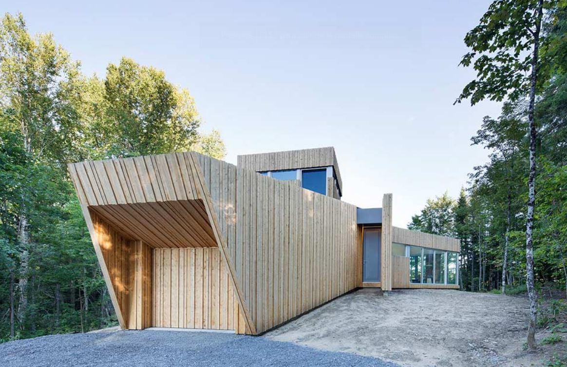 Fachadas de casas con cochera doble for Casas en garajes