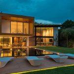 Fachadas de casas de vidrio