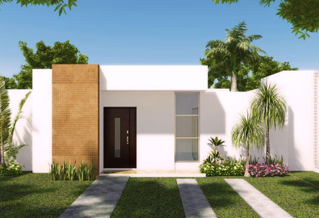 Casas modernas y sencillas de una planta for Casas modernas de una planta minimalistas