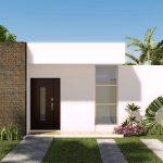 Casas modernas y sencillas de una planta
