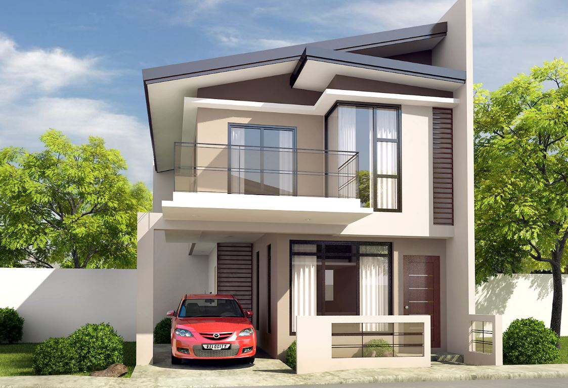 20 fachadas de casas bonitas de dos pisos for Modelos de fachadas de casas de dos pisos