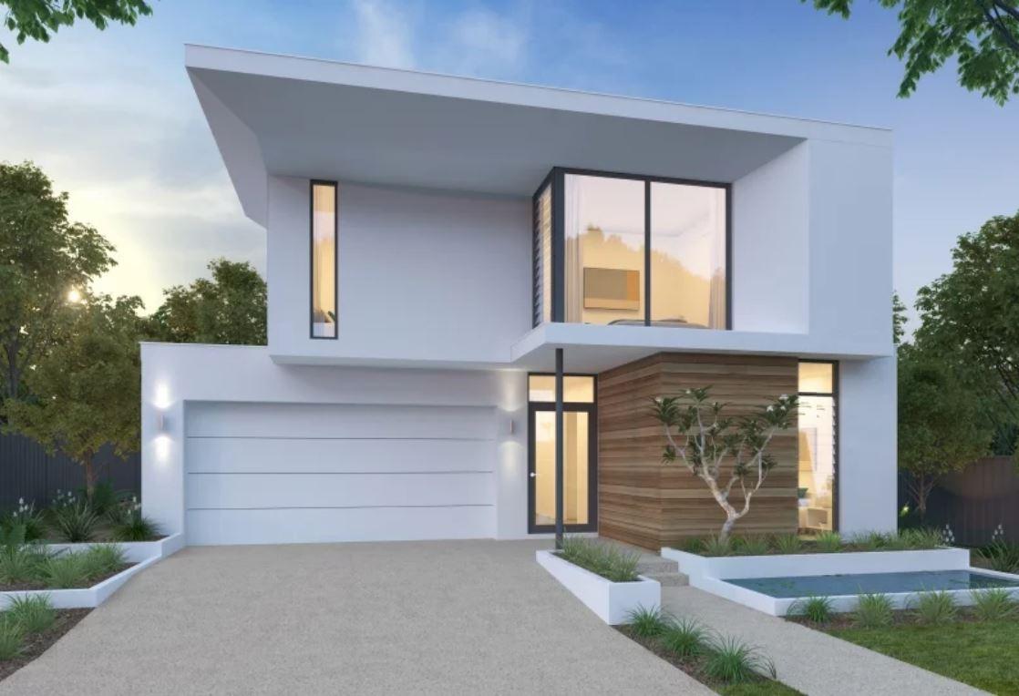 5 modelos de fachadas de casas modernas de dos pisos for Fachadas de casas modernas para colorear