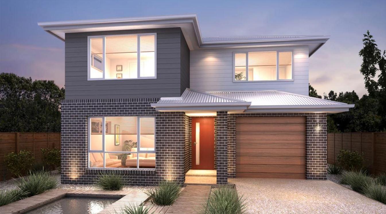 20 fachadas de casas bonitas de dos pisos for Las mejores fachadas de las villas