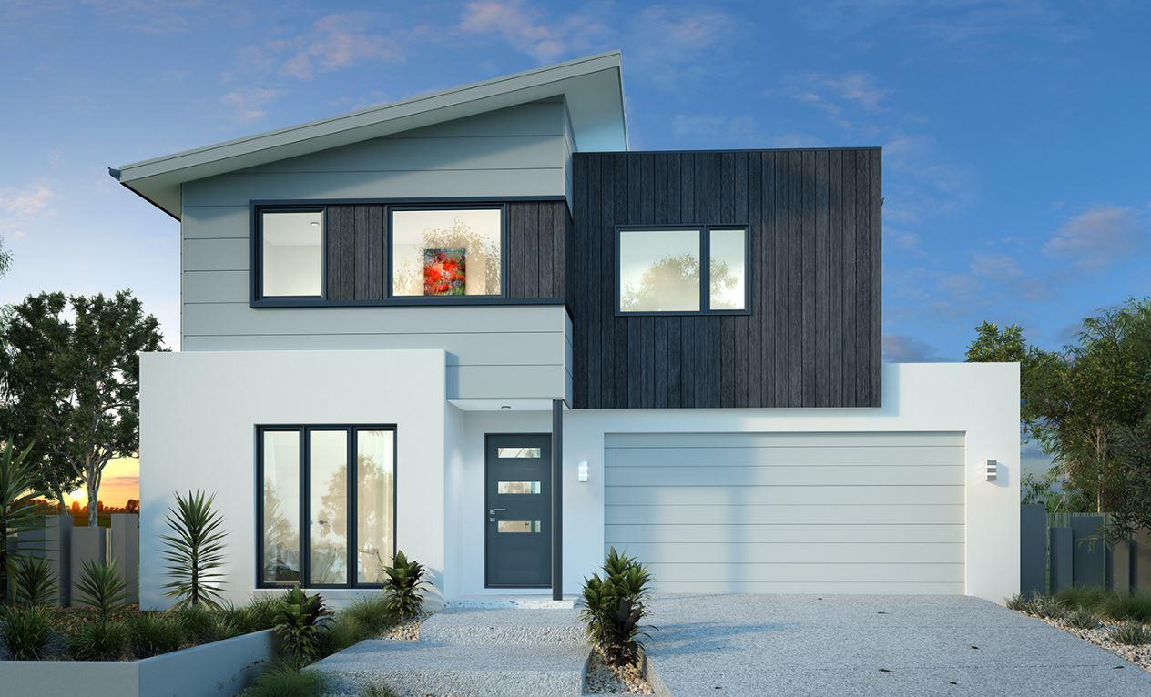 20 fachadas de casas bonitas de dos pisos for Fachadas de casas sencillas