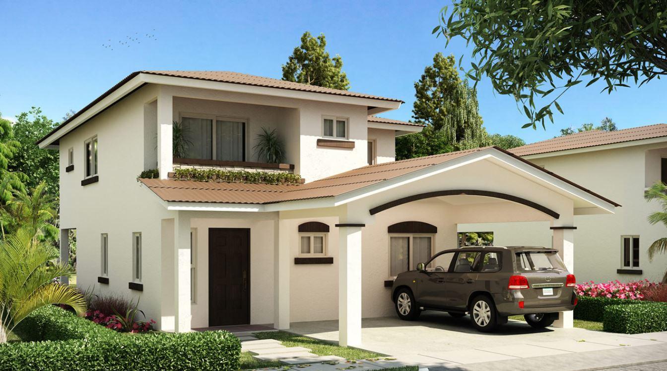 20 fachadas de casas bonitas de dos pisos for Fotos fachadas de casas sencillas y bonitas