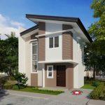 10 Fachadas de casas con dos plantas sencillas