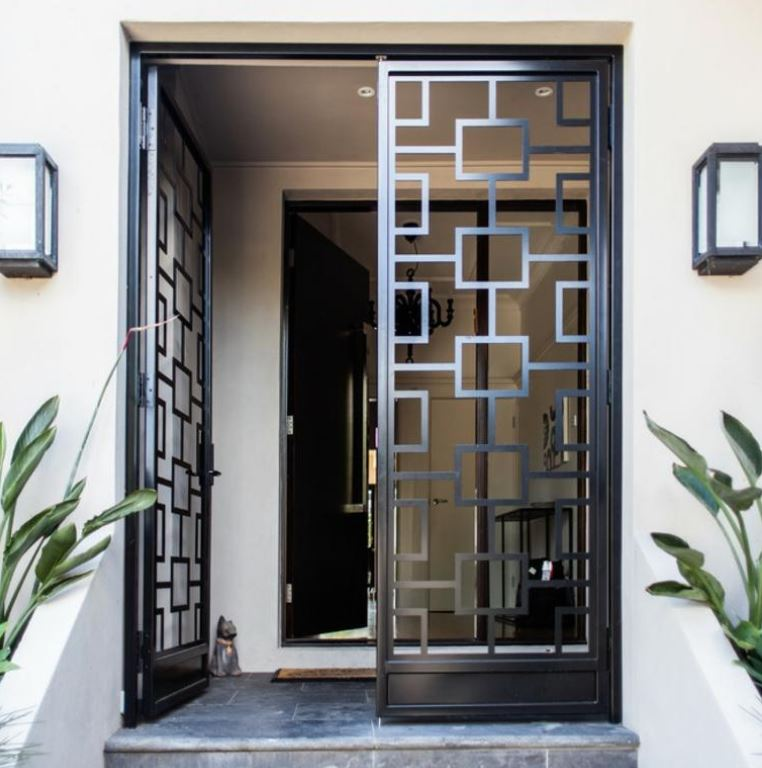 Home Design Gate Ideas: Portones De Hierro Para Frentes De Casas