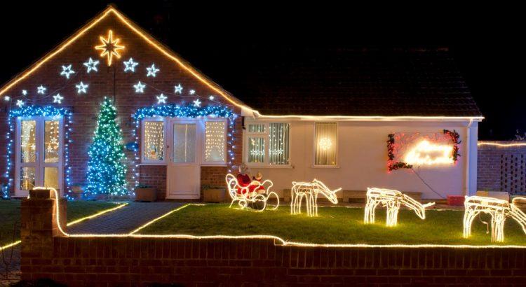 Fotos Casas Decoradas Navidad.10 Casas Adornadas De Navidad Por Fuera