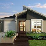 5 Fachadas de casas de una planta sencillas con cochera